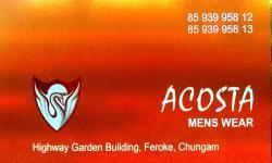 ACOSTA mens wear, TEXTILES,  service in Farook, Kozhikode