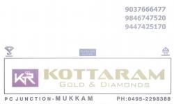 KOTTARAM Gold & Diamonds, JEWELLERY,  service in Mukkam, Kozhikode