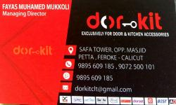 DOR KIT, KICHEN CABINET SHOP,  service in Farook, Kozhikode