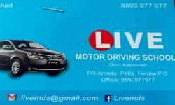 LIVE MOTOR DRIVING SCHOOL, DRIVING SCHOOL,  service in Farook, Kozhikode