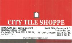 CITY TILE SHOPPE, TILES AND MARBLES,  service in Mukkam, Kozhikode
