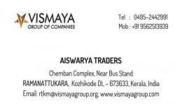 AISWARYA TRADERS, ELECTRICAL / PLUMBING / PUMP SETS,  service in Ramanattukara, Kozhikode