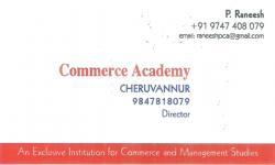 COMMERCE ACADEMY, COLLEGE,  service in Cheruvannur, Kozhikode