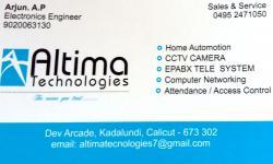 ALTIMA TECHNOLOGIES, I T,  service in Kadalundi, Kozhikode