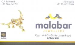 MALABAR , JEWELLERY,  service in Koduvally, Kozhikode