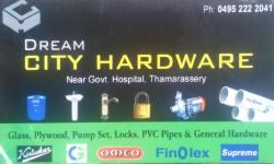 CITY HARDWARE, ELECTRICAL / PLUMBING / PUMP SETS,  service in Thamarassery, Kozhikode