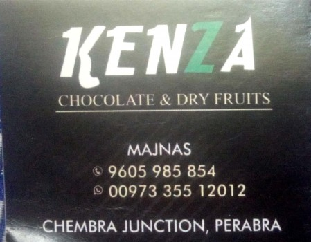 KENZA, DRY FRUITS & CHOCOLATE,  service in perambra, Kozhikode