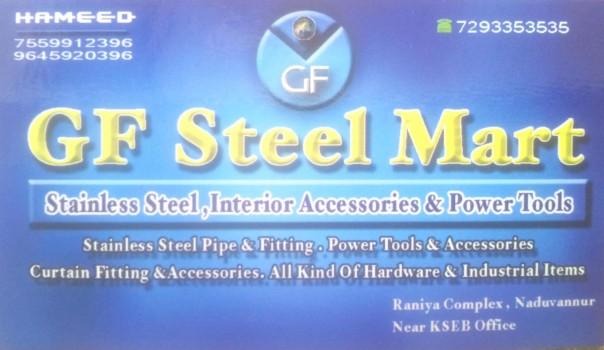 GF STEEL MART, TOOLS,  service in Naduvannur, Kozhikode
