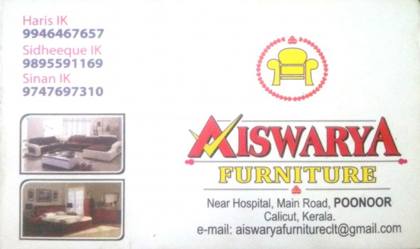 AISWARYA FURNITURE Thamarassery, FURNITURE SHOP,  service in Thamarassery, Kozhikode