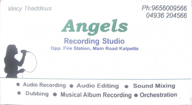 ANGELS, STUDIO & VIDEO EDITING,  service in Kalpetta, Wayanad