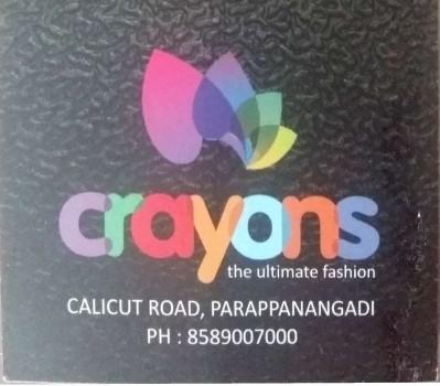 CRYONS, LADIES & KIDS WEAR,  service in Parappanangadi, Malappuram