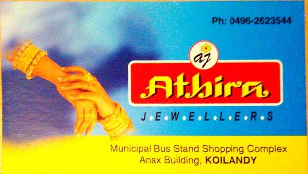 ATHIRA JEWELLERS, JEWELLERY,  service in Koylandy, Kozhikode