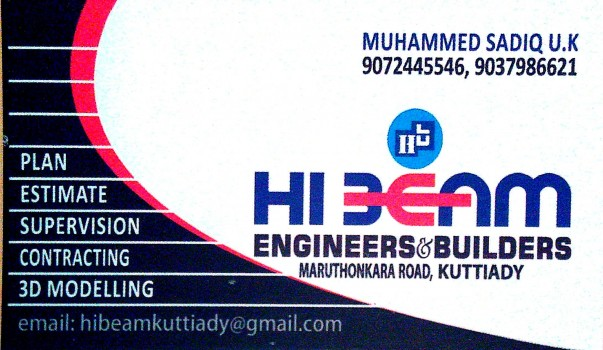 HI BEAM, ENGINEERING CONSULTANCY,  service in Kuttiady, Kozhikode