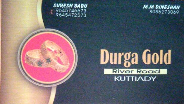 DURGA GOLD, JEWELLERY,  service in Kuttiady, Kozhikode