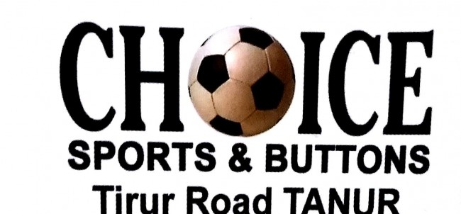 CHOICE SPORTS AND BUTTONS, SPORTS,  service in Tanur, Malappuram