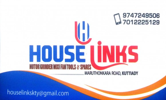HOUSE LINKS, TOOLS,  service in Kuttiady, Kozhikode