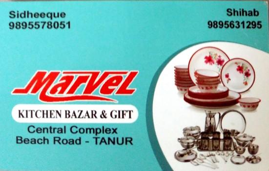 MARVEL, CROCKERY SHOP,  service in Tanur, Malappuram