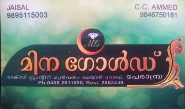 MINA GOLD, JEWELLERY,  service in perambra, Kozhikode