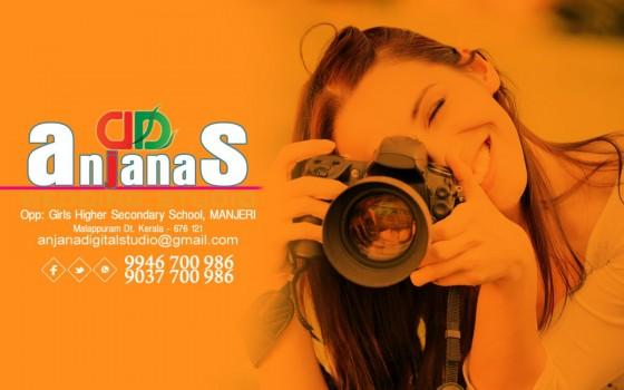 ANJANAS DIGITAL STUDIO, STUDIO & VIDEO EDITING,  service in Manjeri, Malappuram