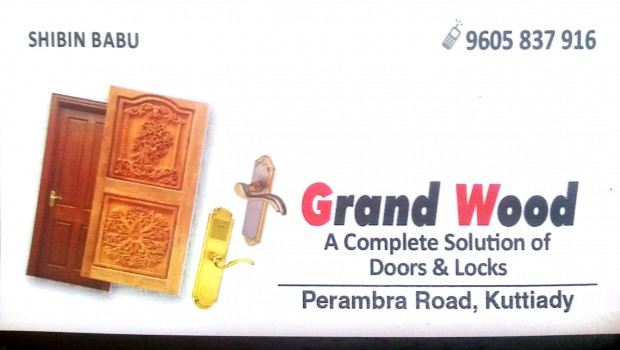GRAND WOOD, DOORS,  service in Kuttiady, Kozhikode