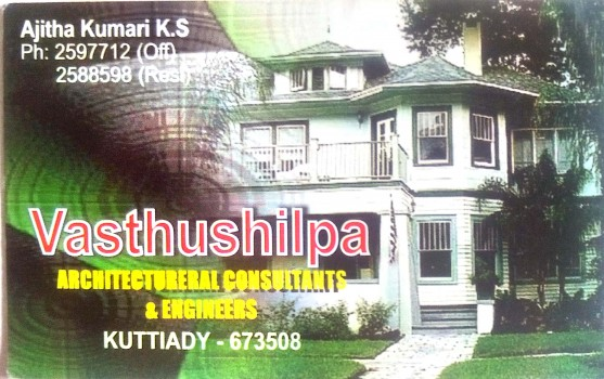 VASTHUSHILPA, ENGINEERING CONSULTANCY,  service in Kuttiady, Kozhikode