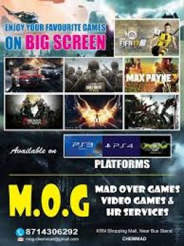 M O G VIDEO GAMES, GAME CENTRE,  service in Chemmad, Malappuram