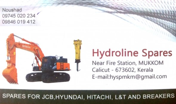 HYDROLINE SPARES, LUBES AND SPARE PARTS,  service in Mukkam, Kozhikode