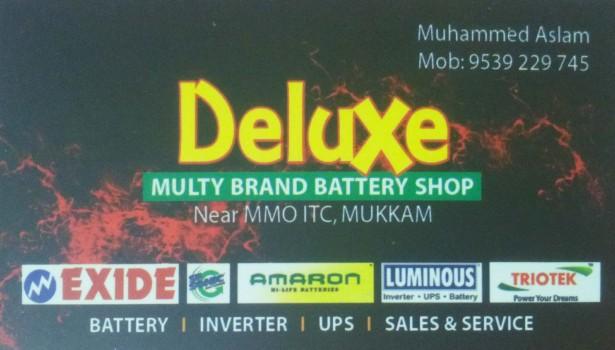 DELUXE, BATTERY & UPS,  service in Mukkam, Kozhikode