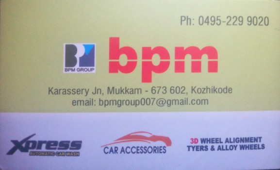 BPM, TYRE & PUNCTURE SHOP,  service in Mukkam, Kozhikode