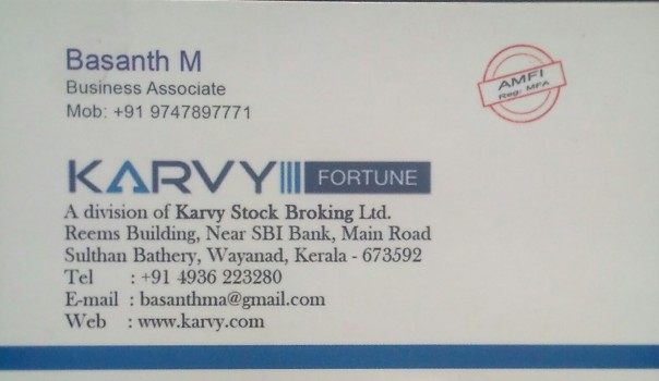 KARVY, ONLINE SERVICES,  service in Sulthan Bathery, Wayanad