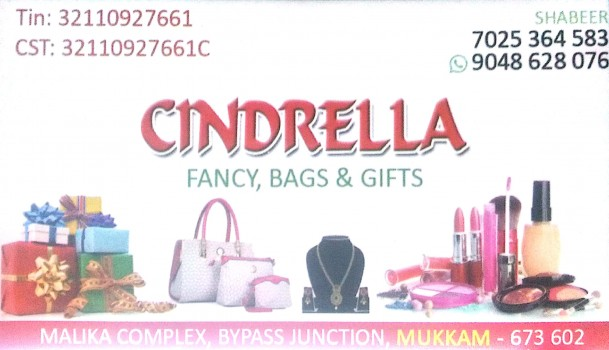 CINDRELLA, FANCY & COSTUMES,  service in Mukkam, Kozhikode