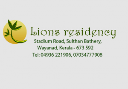 LIONS RESIDENCY, RESIDENCY,  service in Sulthan Bathery, Wayanad