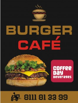 BURGER CAFE, COFFEE SHOP,  service in Kunnamkulam, Thrissur