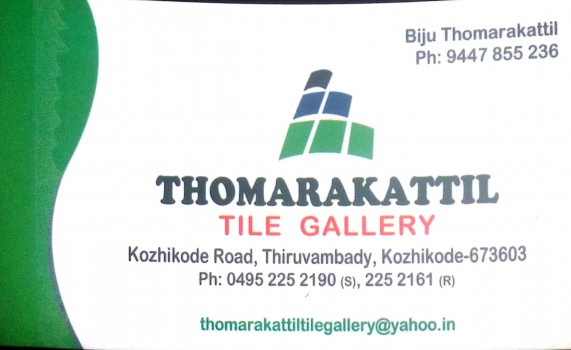 THOMARAKATTIL Tile Gallery, SANITARY WARES,  service in Thiruvambadi, Kozhikode