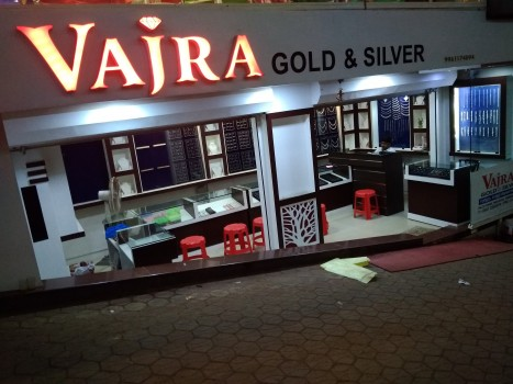 VAJRA GOLD AND SILVER, JEWELLERY,  service in Kanjangad, Kasaragod