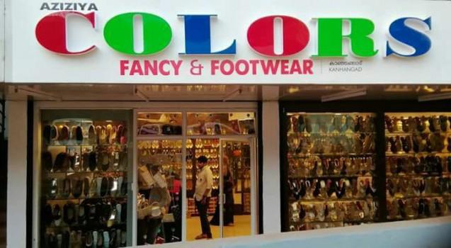 COLORS FANCY AND FOOT WEAR, FOOTWEAR SHOP,  service in Kanjangad, Kasaragod