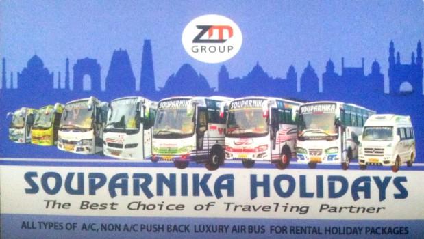 SOUPARNIKA HOLIDAYS, TOURIST SERVICE VEHICLE,  service in Mukkam, Kozhikode