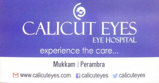 CALICUT EYES Institute Of Ophthalmology, EYE HOSPITAL,  service in Mukkam, Kozhikode
