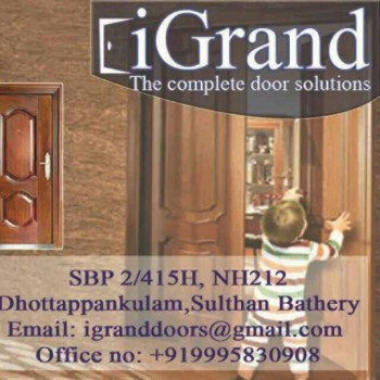 iGrand, DOORS,  service in Sulthan Bathery, Wayanad
