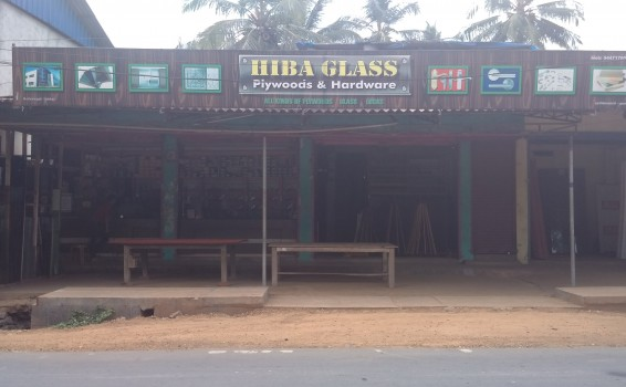 HIBA GLASS, GLASS & PLYWOOD,  service in Edakkara, Malappuram