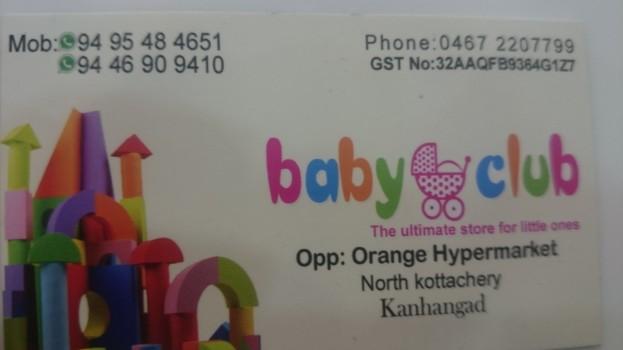 BABY CLUB, GIFT & TOYS,  service in Kanjangad, Kasaragod