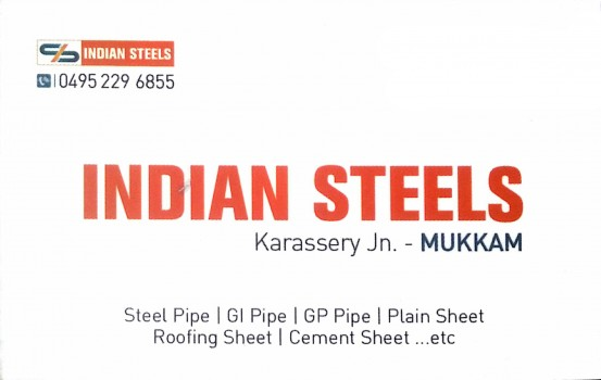 INDIAN STEELS, STEEL,  service in Mukkam, Kozhikode