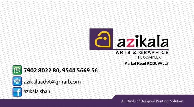 azikala ARTS AND GRAPHICS, ADVERTISMENT,  service in Koduvally, Kozhikode