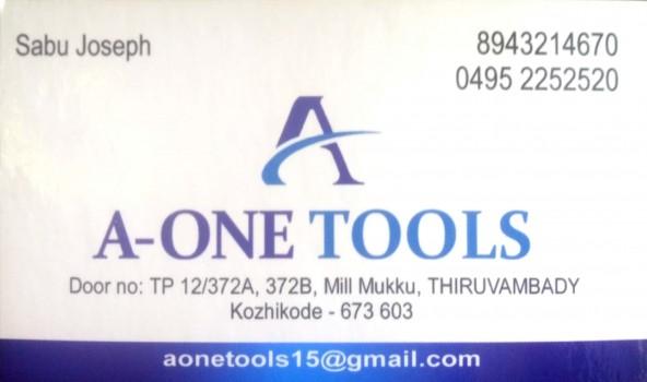 A ONE TOOLS, TOOLS,  service in Thiruvambadi, Kozhikode