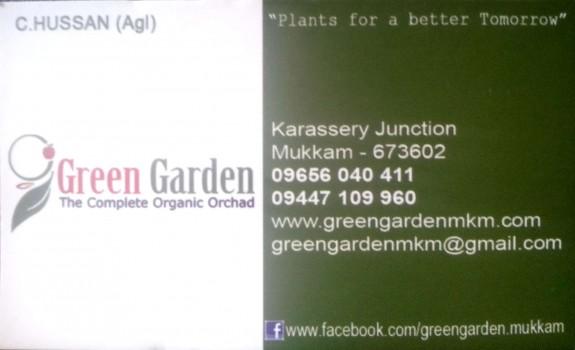 GREEN GARDEN, PLANT NURSERIES,  service in Mukkam, Kozhikode