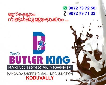 BUTLER KING, BAKING TOOLS,  service in Koduvally, Kozhikode