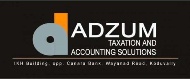 ADZUM, TAX CONSULTANTS,  service in Koduvally, Kozhikode