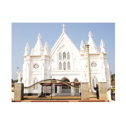 SHRINES, CHURCH in Kerala