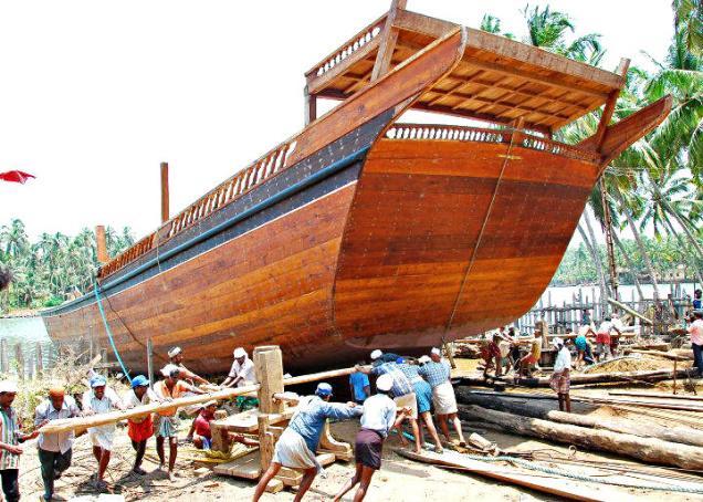 Uru Shipyard Beypore  Kozhikode